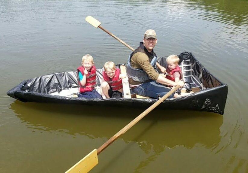 bygg en fiskebåt för 1000kr