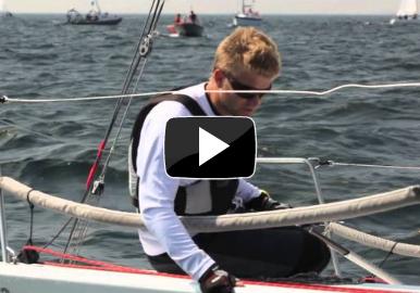 Martin Strandberg leder Farr 30-serien efter första dagen i Sandhamn Race Week