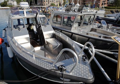 Flytande båtmässa i Gustavsberg