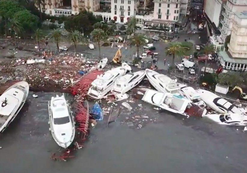 Just nu – 300 båtar totalförstörda!