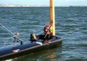 SailRocket kan bli först över 50 knop.