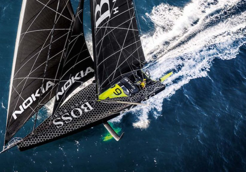 racing_havskappsegling_2018_Alex_Thomson_rekord_Hugo_Boss_Record